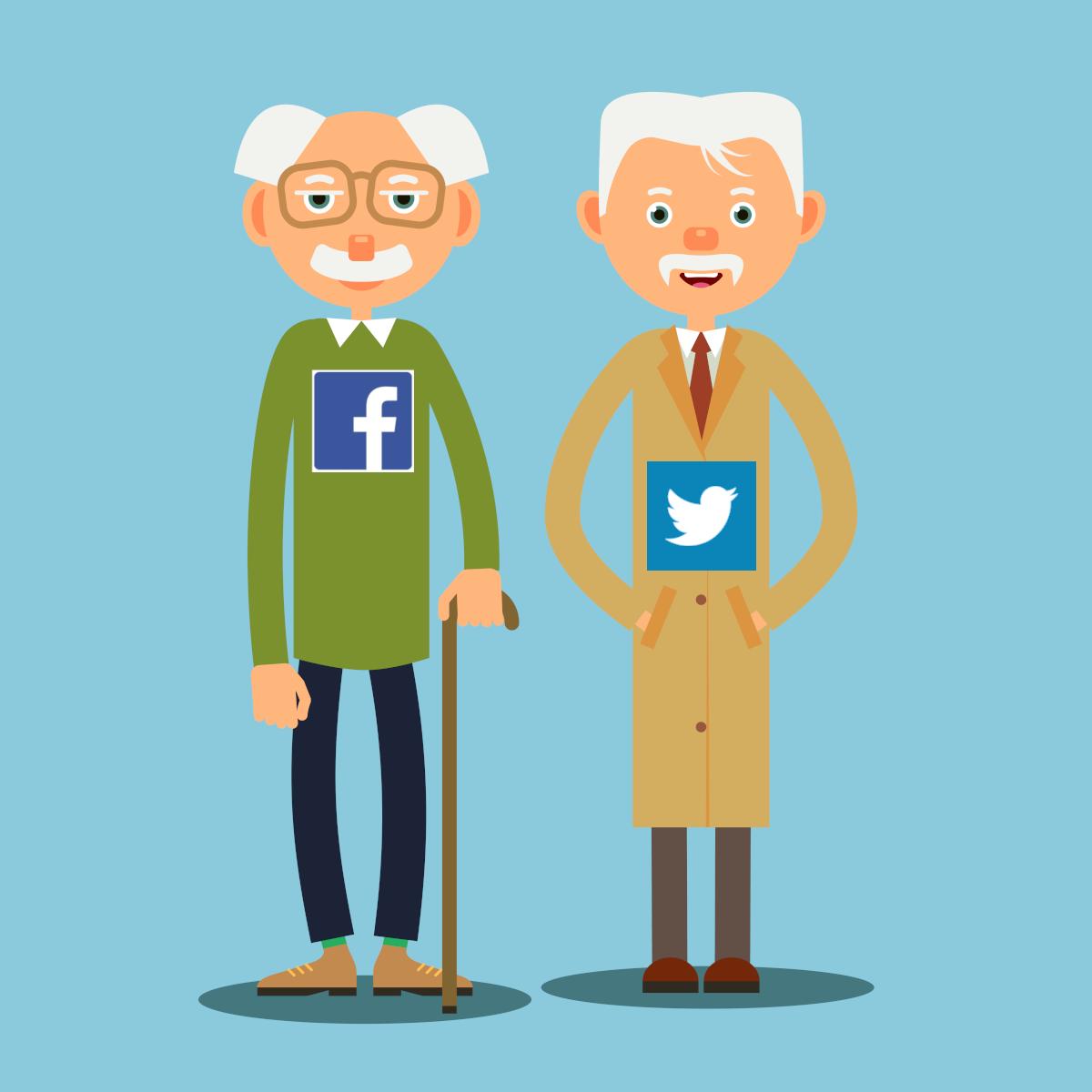 È la fine dei vecchi social generalisti?